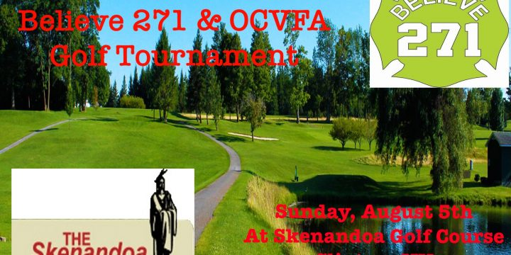 5th Annual Believe 271 Foundation & OCVFA Golf Tournament Announced