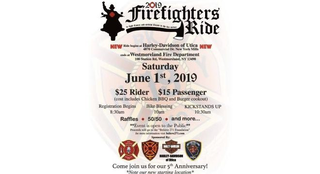 5th Annual Red Knights Motorcycle Ride