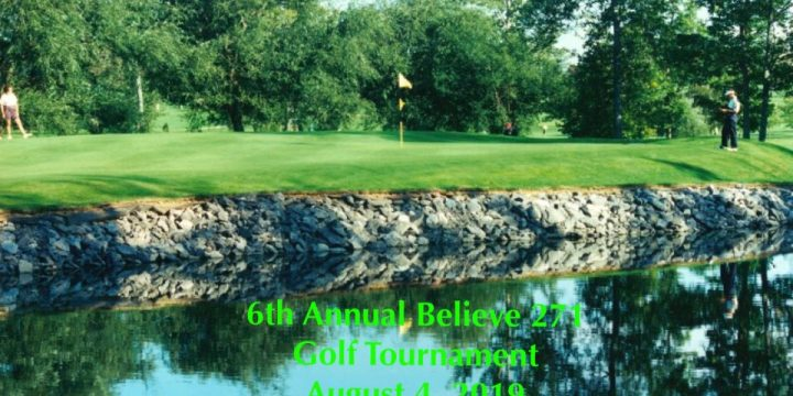 Save The Date – 6th Annual Believe 271 Golf Tournament