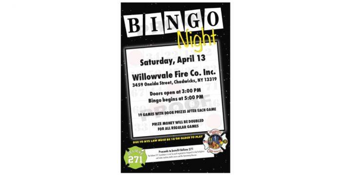 Believe 271 Foundation Bingo Night