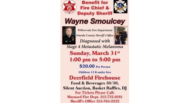 Benefit for Fire Chief & Deputy Sheriff Wayne Smoulcey