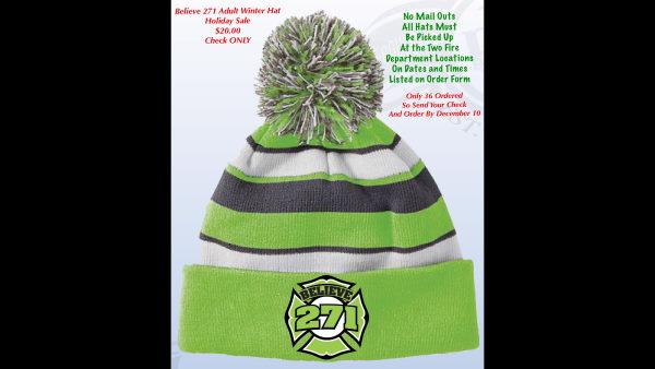 Believe 271 Foundation Winter Hat