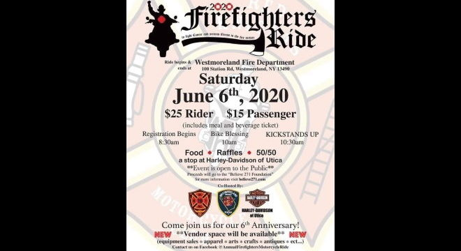 6th Annual Red Knights Motorcycle Ride