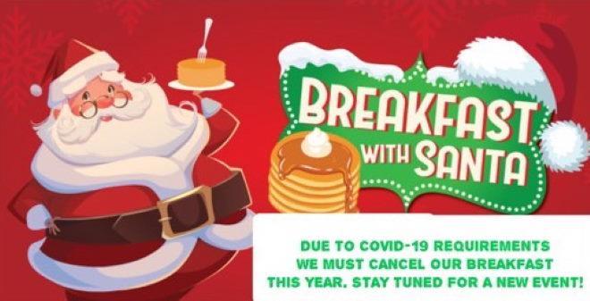 Breakfast With Santa Canceled
