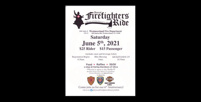 Annual Firefighters Ride