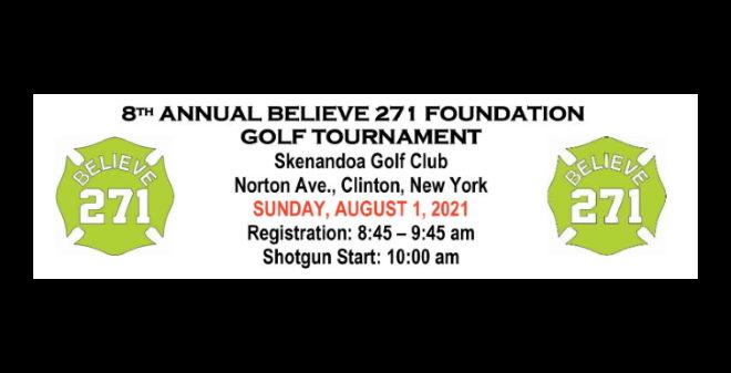 Save The Date – 8th Annual Believe 271 Golf Scramble