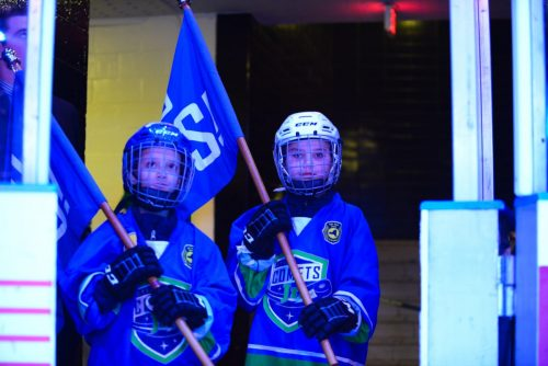 A Night at the Comets Game