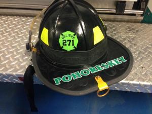 Whitesboro Firefighter Brittany Pohoreskey