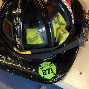 Believe Helmet Decals